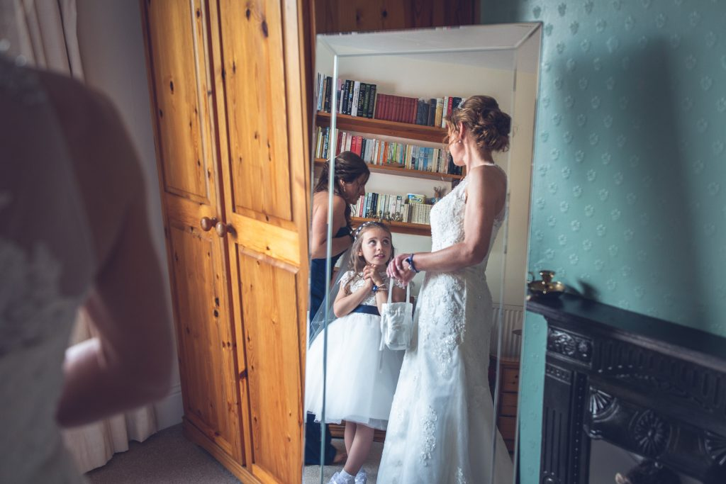 brides reflection